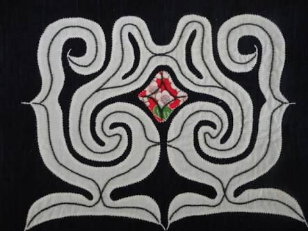 図案 アイヌ 刺繍