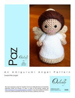 Angelo Amigurumi Tutorial Natale 👼🏻 Angel Crochet Christmas ... | 320x247