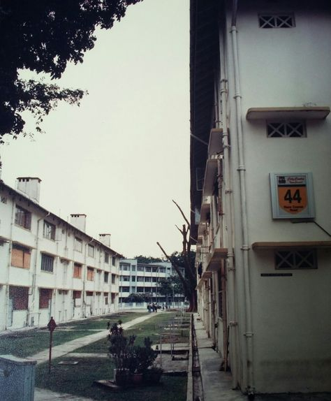 Block 44 Race Course Road Flats Next To Farrer Park Soccer Field Before Demolition With Images Singapore Photos Singapore Photo