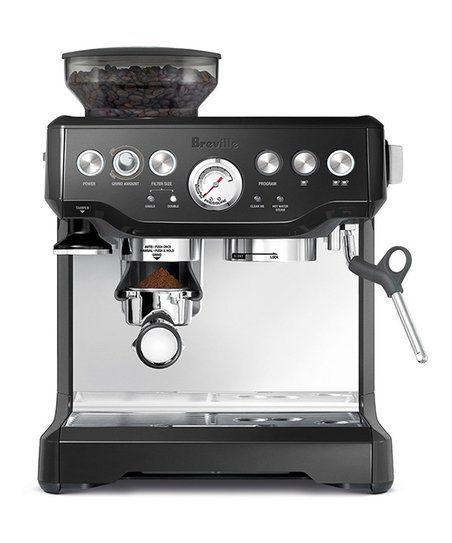 Breville Sesame Black Barista Express Coffee Machine Zulily Breville Espresso Machine Breville Espresso Espresso Coffee Machine