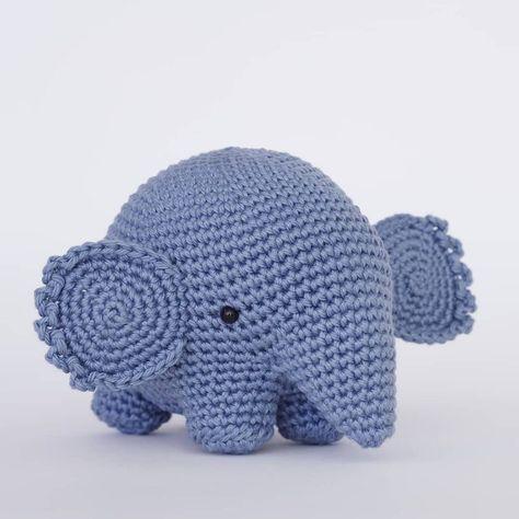 Esther the Elephant Free Amigurumi Pattern | Jess Huff | 474x474