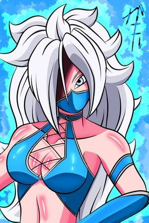 Sexy android 21 Android 21