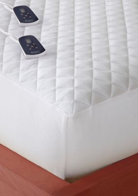 Micro Flannel Electric Heated Mattress Pad Heated Mattress Pad Mattress Pad Mattress