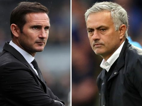 EPL: Mourinho reveals Lampard's only problem at Chelsea
