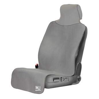 Black with Black Border Premium Neoprene Waterproof Seat Cover