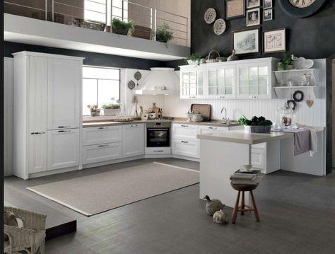 Cucina angolare Stosa Beverly prezzi scontati   Arredamento ...