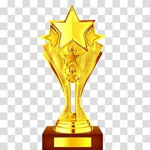 Gold Star Trophy Art Trophy Gold Trophy Material Transparent Background Png Clipart Trophy Art Transparent Background Star Trophy
