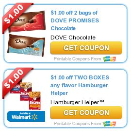 Coupons Com New Printable Coupons Dove Promises Chocolate Hamburger Helper Afrin More 4 22 Hamburger Helper Printable Coupons Coupons
