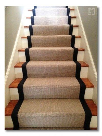 階段が主役の家づくり 蹴込み板をデザインする 階段用カーペット 家