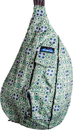 Kavu Rope Sling Pea 50 I Want That Bags Backpack Purses
