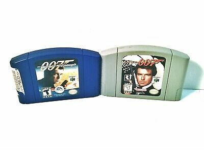 N64 Goldeneye The World Is Not Enough 007 Nintendo 64 James Bond