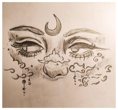 line art drawing sketch pencil