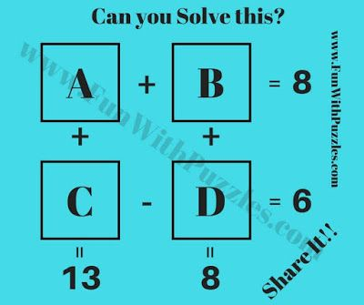 Logic Maths IQ Questions with Answers | Picture Puzzles | Logic math