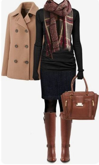 winter outfits scarf Cole Haan Boots Fall Winter O - winteroutfits Cute Office Outfits, Casual Outfits, Dress Casual, Outfit Office, Casual Shoes, Chique Outfits, Outfits With Boots, Tall Girl Outfits, Office Boots
