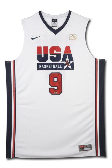 MICHAEL JORDAN Signed & Inscribed Nike 1992 Olympic Basketball Jersey UDA LE 109 - Game Day Legends - www.gamedaylegends.com Sports Memorabilia
