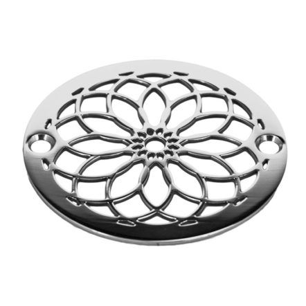 3 25 Round Replacement Shower Drain Cover Mandala No 1