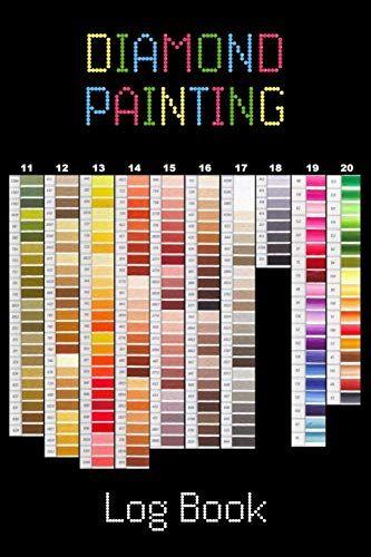 Diamond Painting Log Book Organizer Notebook To Track Dp Https Www Amazon Com Dp 1720111111 Ref Cm Sw R P Diamond Painting Notebook Organization Painting