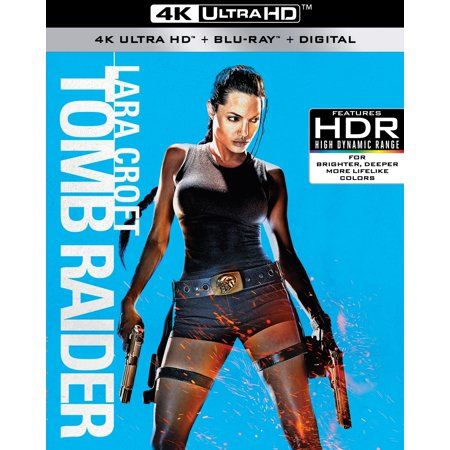 Lara Croft Tomb Raider 4k Ultra Hd Blu Ray Digital In Www