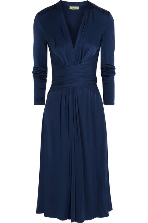 7a65d1327a8 NOW 50% OFF KATE'S ISSA WRAP DRESS. Silk-jersey dress from THE OUTNET. UK8  and UK10s left in stock.