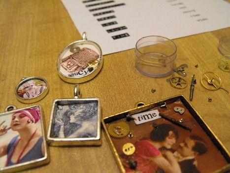 Completed Project: How To Make Resin Pendants Picture #1 http://www.cutoutandkeep.net/projects/how_to_make_resin_pendants