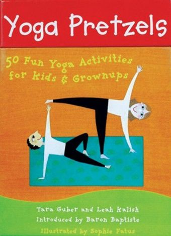 Fun yoga cards. A yoga practice game for all ages. 2013 Faire