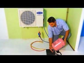 R410a Vacío Prueba Nitrogeno Y Carga De Refrigerante Aire Acondicionado Split Youtube Aire Acondicionado Split Acondicionado Aire Acondicionado