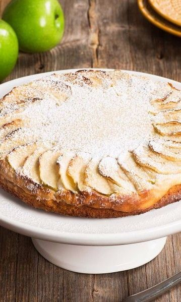 Cream Cheese Swedish Apple Cake This Cream Cheese Swedish Apple Cake Recipe Combines The Best Of A Tradit Dinner Party Desserts Nordic Recipe Easy Cake Recipes