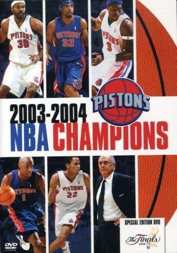 2003 2004 Nba Champions Detroit Pistons Dvd 2004 Special Edition New Nba Champions Detroit Pistons Nba
