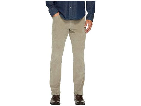 2354dc0d Vintage 1946 Sunny Stretch Corduroy Five-Pocket Pants (Dusty Silver) Men's  Casual Pants. Laid-back style for those cooler day. Relaxed fit. Corduroy  pants ...