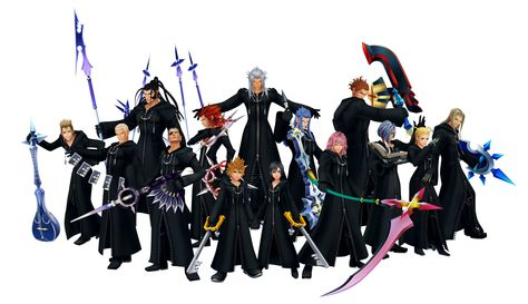 Organization XIII - The Keyhole: Ye Olde Kingdom Hearts Fansite