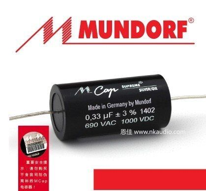 German Original Mundorf Mcap Supreme Silver Oil 0 01uf 10uf 690vac 1000vdc Free Shipping German Original Mundorf Mcap Supreme Sil Audio Design Oils Mcap