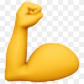 Emoji Emojis Yellow Hand Power Muscle Ios Iphone Emoji Hd Png Download Pink Heart Emoji Emoji Sparkle Emoji