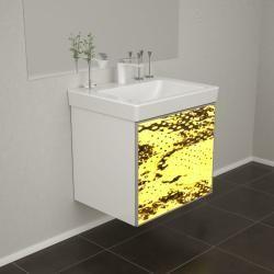 Badezimmerschranke Badschranke Badmobel Wooden Leucht Front