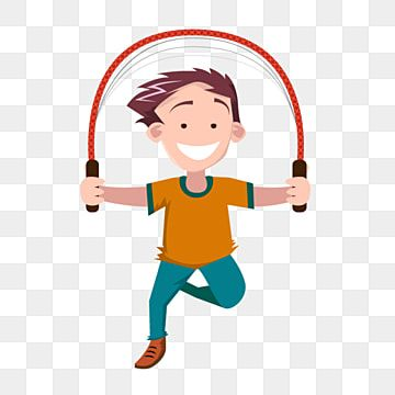 Children Jumping Rope People Kids Hand Png And Vector With Transparent Background For Free Download Cartoon Illustration Kids Clipart Kids Background
