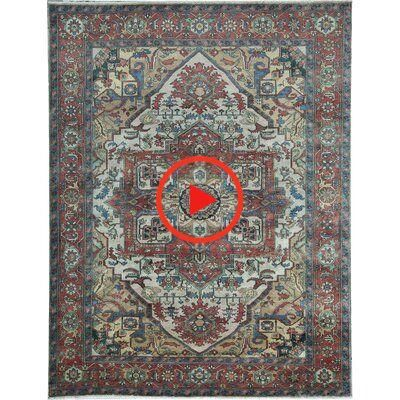 Bokara Rug Co Inc Oriental Hand Knotted Wool Ivory Red Area Rug In 2020 Rugs Red Area Rug Authentic Design
