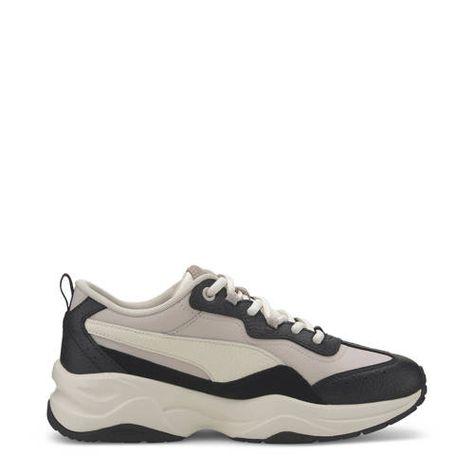 Puma Cilia Lux sneakers zwart/wit/beige - Zwart wit, Zwart ...