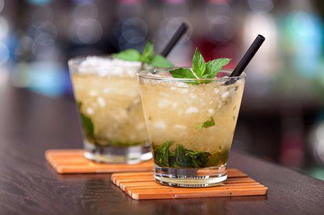 Mint Julep CBD Cocktail