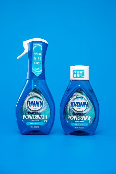 Spray, Wipe, Rinse with Dawn Powerwash Dish Spray