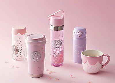 Starbucks KOREA 2017 Cherry Blossom SS Elma Tumbler 473ml 1ea