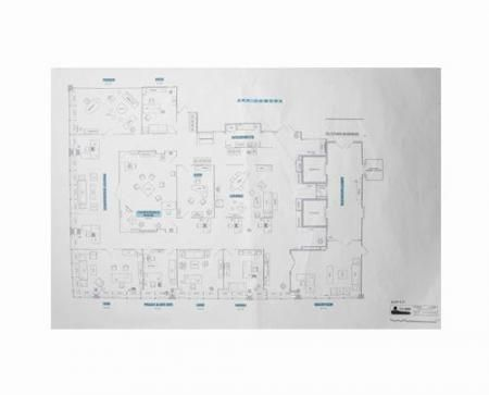 Scdp Offices Set Design Floorplan Current Price 800 Office Set Floor Plans Hollywood Homes