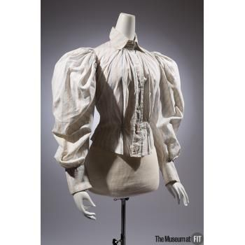 Shirt(waist), c 1894. Stanley, United States. Cotton. The Museum at FIT - Online Collections