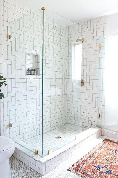 20 Bathroom Shower Tile Ideas That Will Inspire You Wanda Olesin In 2020 Master Bathroom Renovation Bathroom Remodel Master Bathroom Renovations