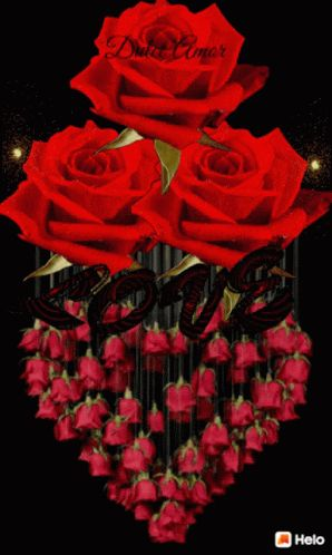 Love Roses GIF - Love Roses Heart - Discover & Share GIFs