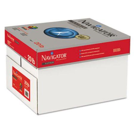 Navigator Platinum Paper 99 Brightness 20lb 11 X 17 White 2500 Carton Size 11 Inch X 17 Inch Paper Online Paper Walmart