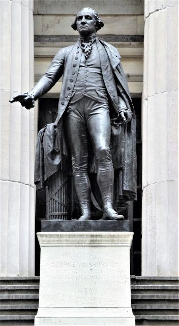The 1882 George Washington Statue Federal Hall George Washington Statue Statue George Washington