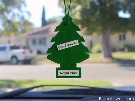 Lego Car Air Freshener Guys Christmas Tree Lego Christmas Gifts