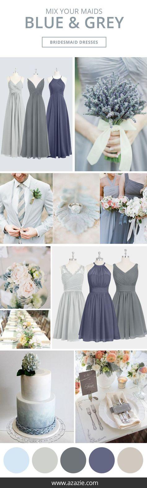 Blue Bridesmaid Dresses | Azazie