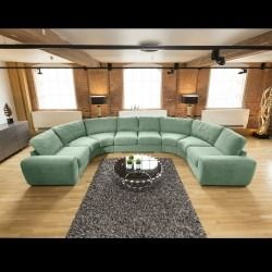 Huge Modern High Quality U Shape Sofa Corner Group Sabina Grey 1 2 U Shaped Sofa U Shaped Corner Sofa Luxury Sofa