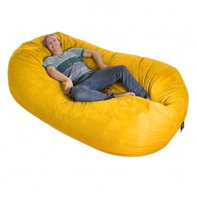 Ebern Designs Microfiber Bean Bag Sofa Wayfair Cool Bean Bags Bean Bag Chair Bean Bag Sofa