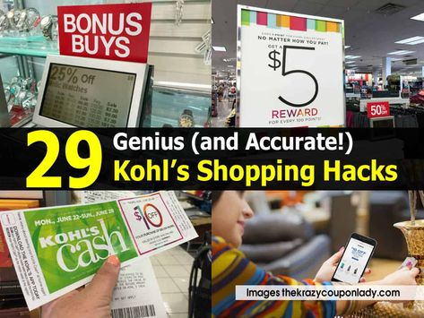 29 Genius (and Accurate!) Kohl's Shopping Hacks